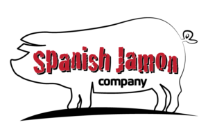 logo spanish jamon rood